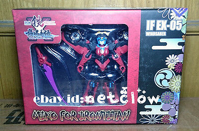 Transformers IronFactory IF EX-05 Windblade miko for irontitan in Stock