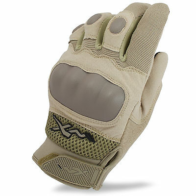 Wiley X Durtac Breathable Tactical Military Army Combat Knuckle Gloves Coyote UK