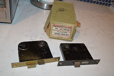 Pair of Shapleigh's Inside Door Locks (1 Set) # EA87100SC