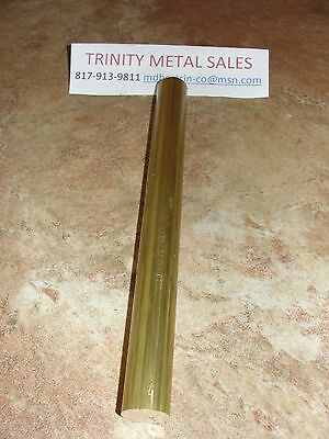 "3/4"" X 12"" Brass Round Bar Rod C360 Best Value, Best Price!!"