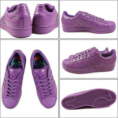 reputable site 711de 921fb Adidas Superstar Pharrell Williams x Supercolor Chaussures - violet ref  s41836