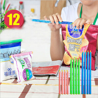 Useful Hot Sale Fresh Food Storage Bags Plastic Seal Stick Zip Organizer