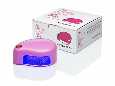 Little Pink LED Lamp For Gel Nails Manicure Pedicure Home Salon Use