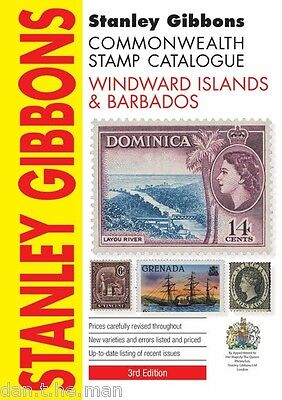 STANLEY GIBBONS COMMONWEALTH STAMP CATALOGUE, WINDWARD ISLANDS & BARBADOS 3rd Ed