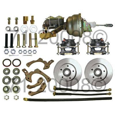 Brand New Complete Front Disc Brake Conversion Kit For 59 60 61 62 63 64 Chevy