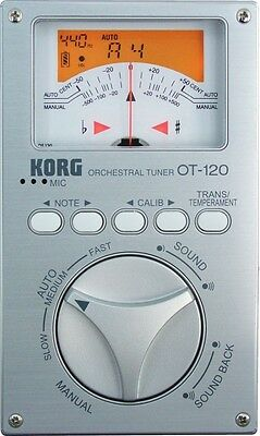 KORG chromatic tuner orchestra for OT-120 from japan