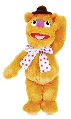 "The Muppets - FOZZY BEAR - Large 16"" Plush Beanie Disney Soft Toy - *BRAND NEW*"