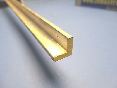 """1/2"""" x 1/2"""" x 12""""-Long 6061 T6511 Aluminum Angle  x 1/8"""" Thick FREE SHIPPING"""