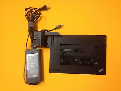 LENOVO DOCK STATION + 135W Charger For Thinkpad T510 T520 T530 W510 W520  W530