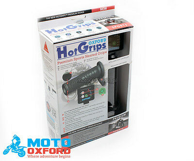OXFORD Premium SPORTS MOTORCYCLE HEATED GRIPS HOT GRIPS Handlebar  Ride