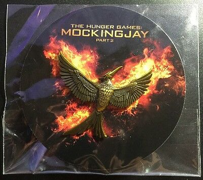 SDCC 2015 The Hunger Games: Mockingjay Part 2 Pin Fast Shipping!