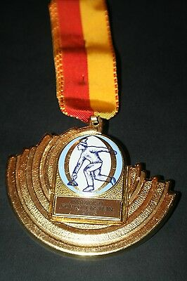BAD012 Medaille Eisstockschiessverein Paradiso Forchtenstein