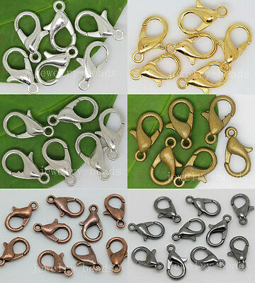 100pcs Jewelry Lobster Parrot Clasp Claw For Diy Craft necklace Bracelets Craft