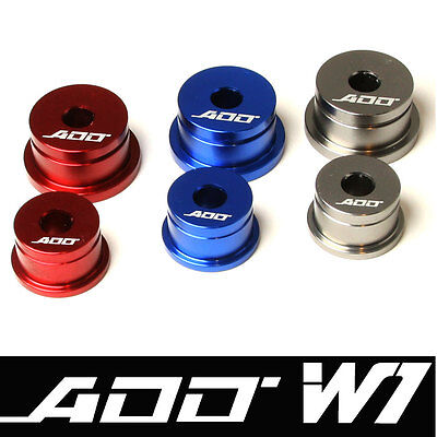 ADD W1 Shifter Cable Bushings for  Evolution VIII-IX 2001-06  RED COLOR 6 speed