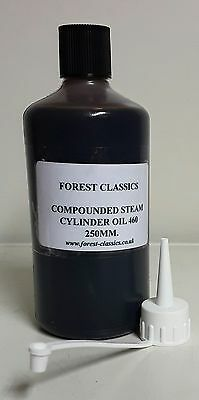 (Fs) 250 Ml Compound Steam Oil For  Mamod /wilesco  Etc With Spout