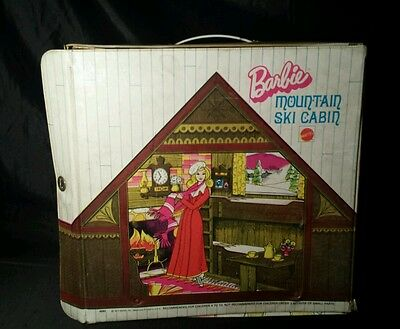 Vintage 1972 Mattel Barbie Mountain Ski Lodge