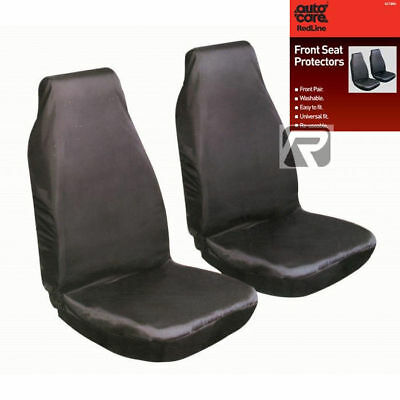 Front Car Seat Protectors - Washable & Water Resistant, Ideal For Dogs Pets Etc