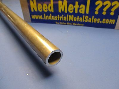 "2024 T351 Aluminum Round Tube 1"" OD x 24""Long x .125"" Wall--  FREE SHIPPING"