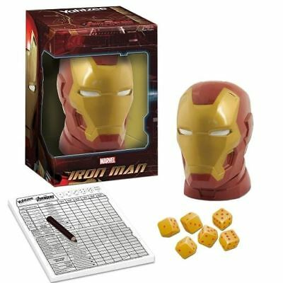 Yahtzee: Iron Man - Marvel Avengers Age Of Ultron Classic Table Top Game New