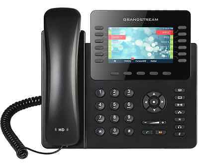 GRANDSTREAM GXP2170: 12 Line HD IP Phone w/ Clr Display-VoIP-1 MO. FREE SERVICE