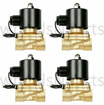 "air ride suspension valves four 1/2""npt brass fast electric 250psi max parts"