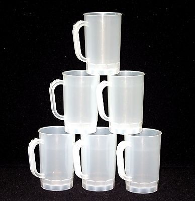 75-1 Pint Natural Beer Mugs Steins Made in America Dishwasher Safe Top Shelf