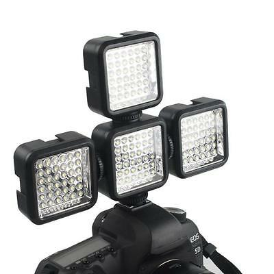 36 LED Video Light Lamp 4W 160LM For Nikon Canon DV Camcorder Camera+Charger HOT