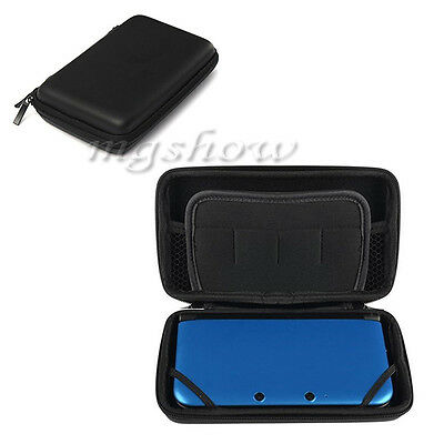 BLACK EVA Hard Carry Case Cover for New Nintendo 3DS XL LL Sleeve Bag Pouch UK