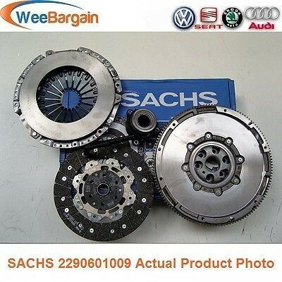 AUDI A3 2.0 TDI SACHS Dual Mass Flywheel and Clutch Kit with CSC Slave Bearing