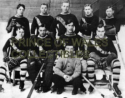 1912 Victoria Cougars Team Photo 8X10