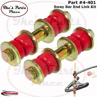 Prothane 4-401 Front Sway Bar End Link Kit Chrysler/Dodge/Ford/Mazda-Bushings