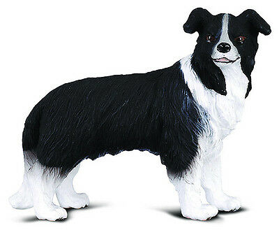 FREE SHIPPING | CollectA 88010 Border Collie Dog Toy Replica - New in Package