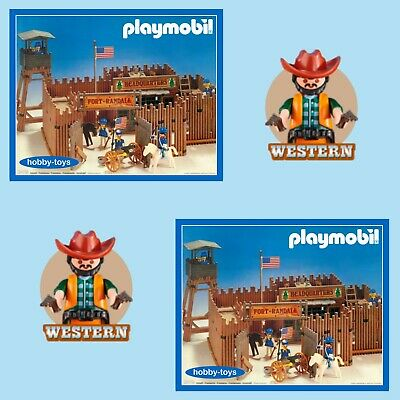 Playmobil Western Fort Bravo Randall Glory Spares Parts Max UK P&P £2.99 / Order
