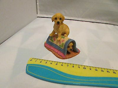 Collectible World Studios HIDE & SEEK Tails of Love PUPPY / Dog Figure 1997