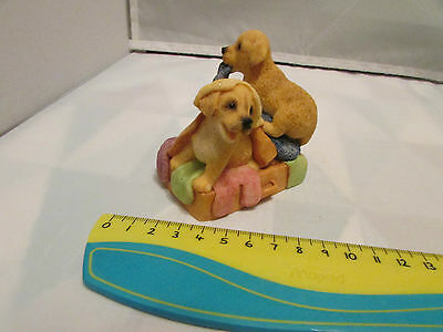 Collectible World Studios HOLIDAY ADVENTURE Tails  Love PUPPY / Dog Figure 1997
