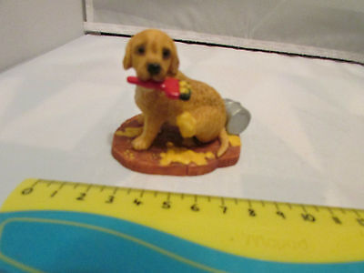 Collectible World Studios HELPING HAND Tails of Love PUPPY / Dog Figure 1997