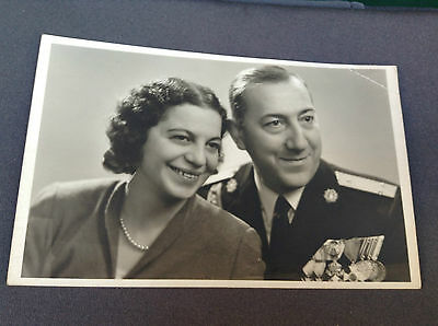 RRR Very rare Bulgarian Royal military photo police colonel-general WWII