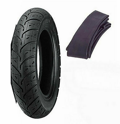 New Kenda 2.50-10 K329 Tire & Tube Honda SB50 EliteE/NQ50 Spree & Yamaha Razz