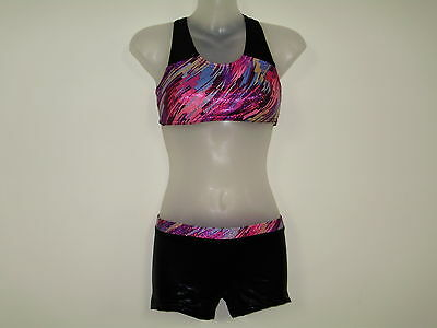 Gymnastics Crop top Set Girls size 10