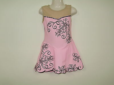 SKATING/Rhythmic gymnastics/Cal/ DANCE COSTUME  Girls SIZE 8...DS Designs