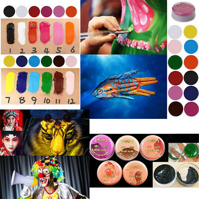 35ml Face & Body Paint Oil Painting Art Stage Effect Special Make Up Halloween