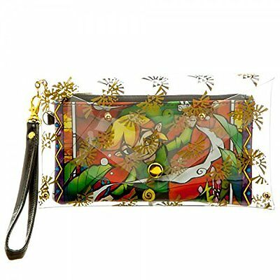 *NEW* The Legend of Zelda: Link Clear Envelope Wallet with Wristlet by Bioworld