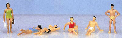 "Kato 24-218 Model People ""People Swimming"" (N scale)"