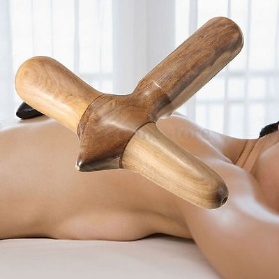 Thai Traditional Reflexology Foot & Hand & Body Massage Wooden Stick SPA Tool