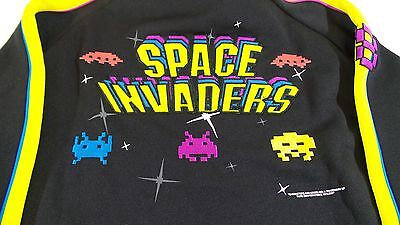 Atari Space Invaders Gamer Collectors Jacket Arcade Video Game XL Extra Large