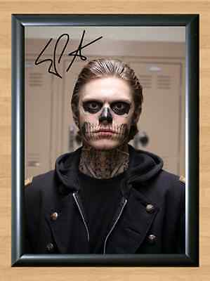 EVAN PETERS American Horror Story Signed Autographed A4 Print Photo Poster dvd