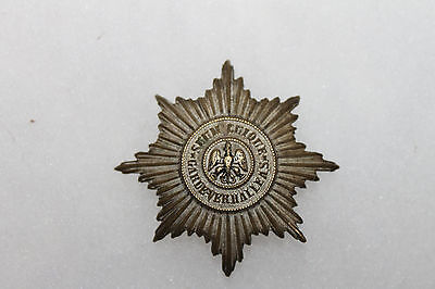 Original Pre WW1 Era German Army War Veterans Metal Badge w/Rear Pin