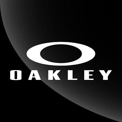 Oakley Decal Sticker - 15 COLOR OPTIONS - 8 SIZES