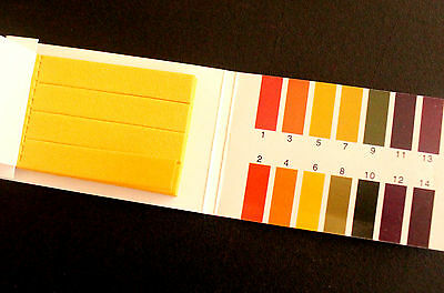 80x 1-14 PH Tester Dipping Strips Aquarium Fish Tank Test Kit Acidity Alkalinity
