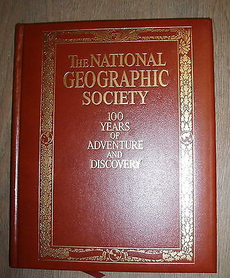 THE NATIONAL GEOGRAPHIC SOCIETY by C.D.B.BRYANE H/B £3.25 UK POST 1997